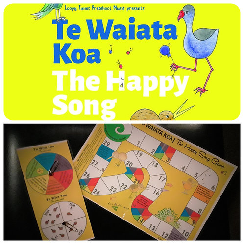 """""""The Happy Song"""" Book Pack"""