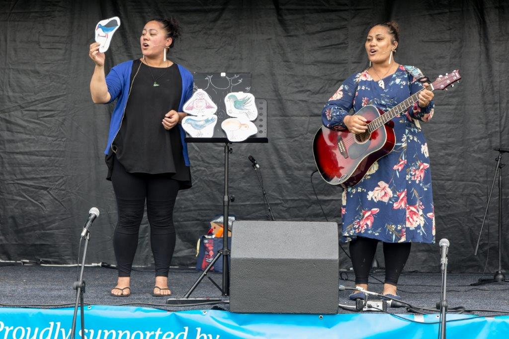 """Five Little Birds"", during our Celebrate Bishopdale (2019) performance, in Christchurch"
