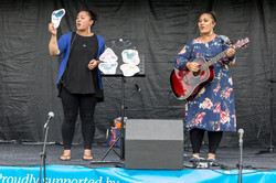 """""""Five Little Birds"""", during our Celebrate Bishopdale (2019) performance, in Christchurch"""