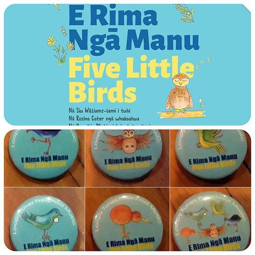 """""""Five Little Birds"""" Book Pack"""