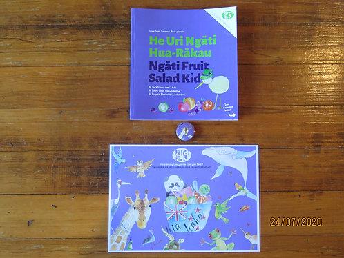 """""""Ngāti Fruit Salad Kid"""" Book Pack"""
