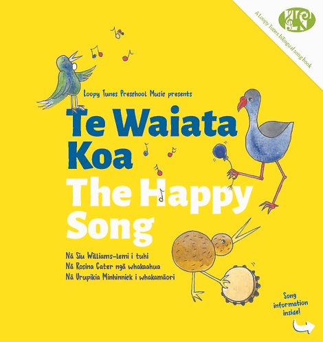 Book Only - Te Waiata Koa | The Happy Song