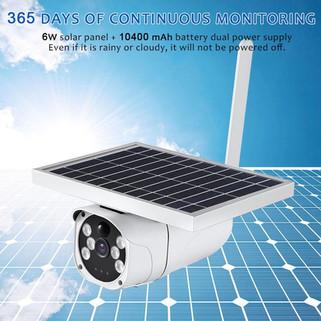 Solar Surveillance cam
