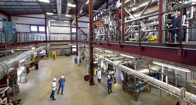 liquid leakage detection in industry factory