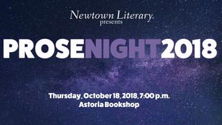 Prose Night 2018