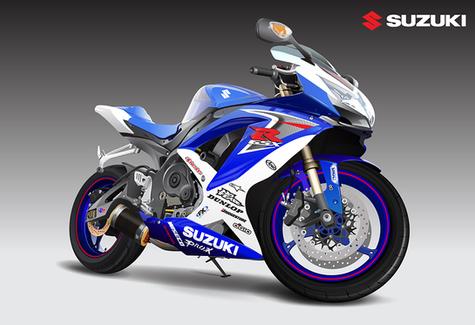 Suzuki GSXR Poster