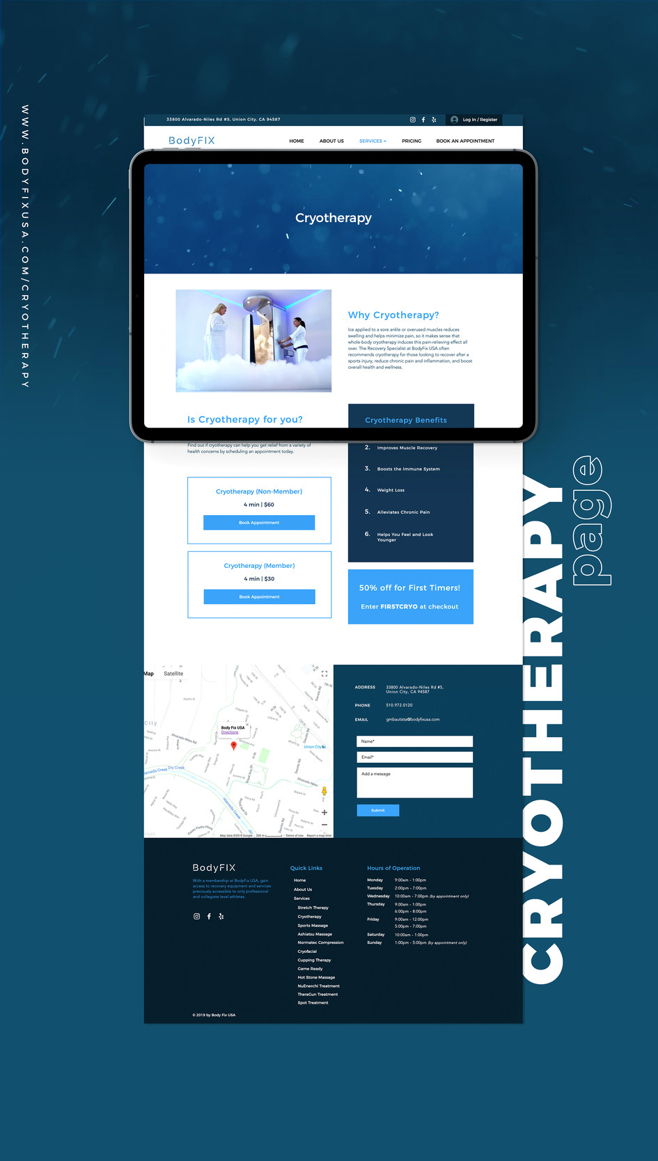 Cryotherapy Page