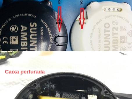 O risco do uso de peças falsificadas no SUUNTO AMBIT