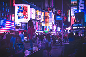 Lost in Time Square / 21:23:28