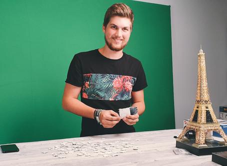 PreRoll-Videos für 3D-Puzzle