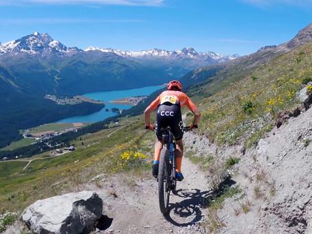 Engadin Bike Giro - endlich wieder MTB-Rennen filmen