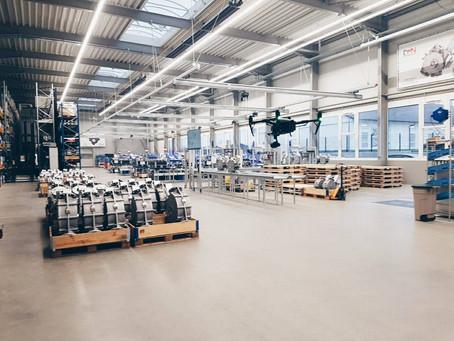 Luftaufnahmen für Industriekunden