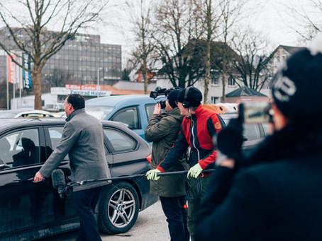 Werbespot-Dreh für KLAUS Multiparking