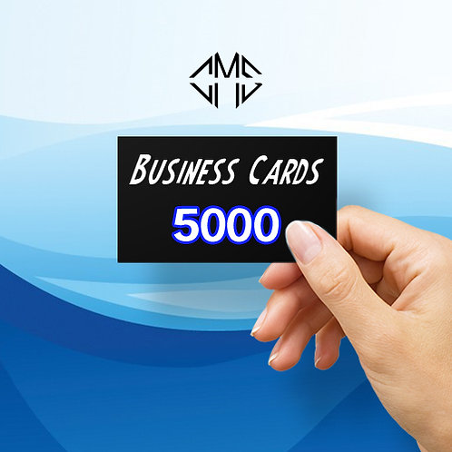 5000 Custom Business Cards