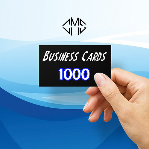 1000 Custom Business Cards