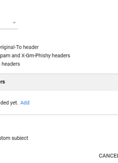 SMTP Injection in Gsuite