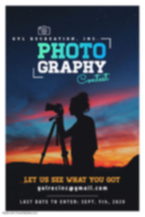 Photography Contest Flyer