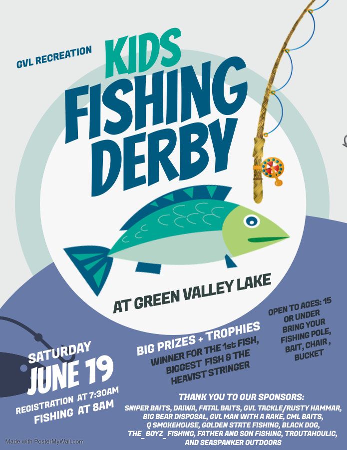 Copy of Fishing Derby Flyer - Made with