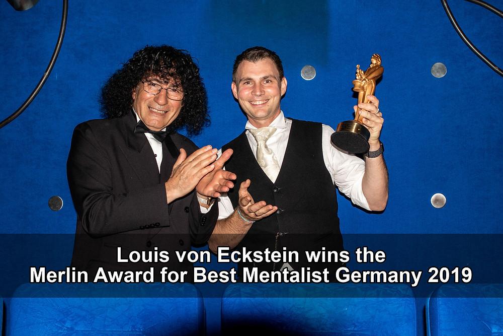 Louis von Eckstein - Merlin Award for Best Mentalist Germany 2019
