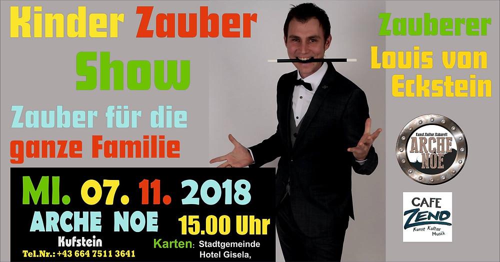 Kinder Zauber Show mit Louis von Eckstein