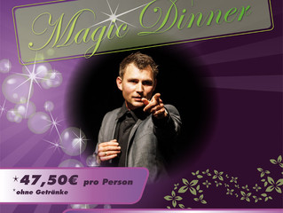 Magic Dinner zur Wertachau am 06.03.2020