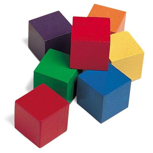 20塊1吋顏色積木