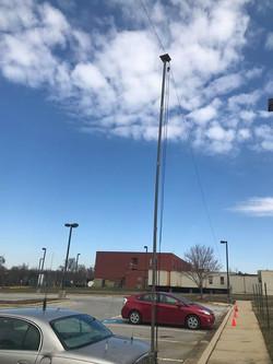KA3POX's hitch mount antenna