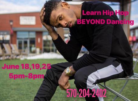 Hip Hop Dance Camp with Reggie Oliver in Danville, PA