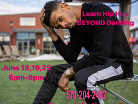 Hip Hop Dance Camp with Reggie Oliver in Danville, PA