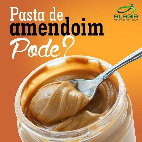 Pasta de amendoim, pode?