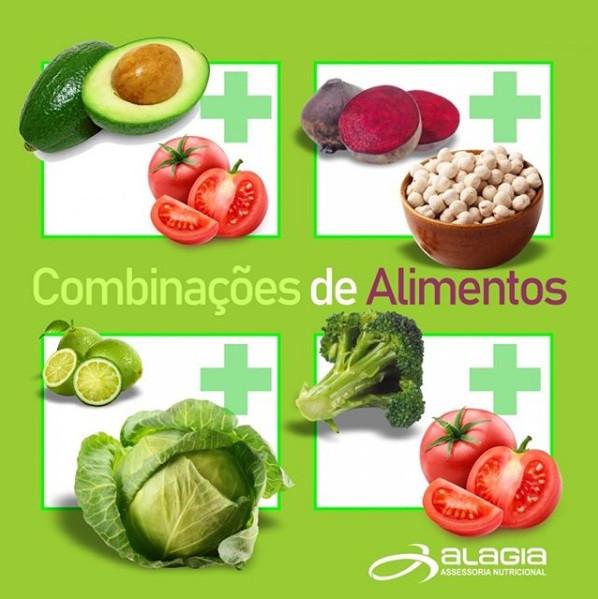Ganhe saúde combinando os alimentos
