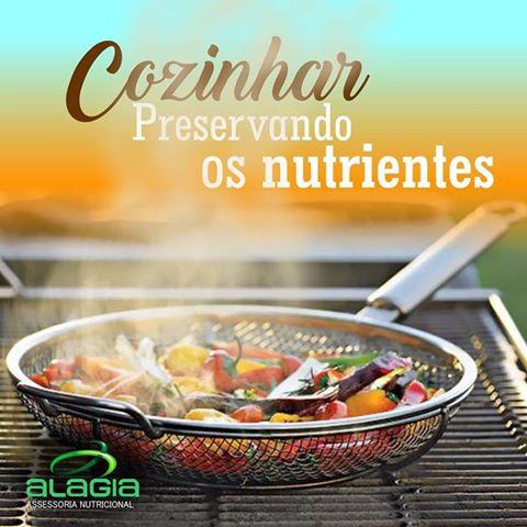 Cozinhar Preservando os Nutrientes