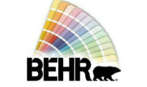 paint chips and BEHR logo