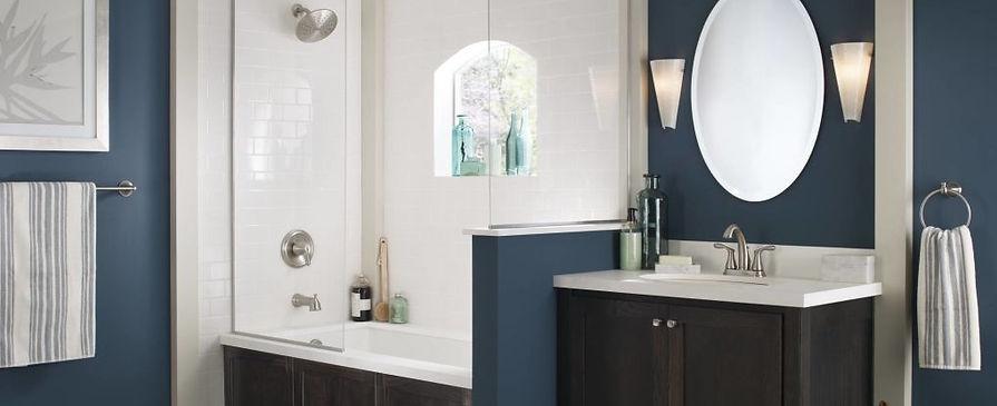Beautiful Bathroom with Moen Accessories