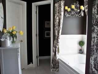 Yes, black can be a great color choice for your bathroom