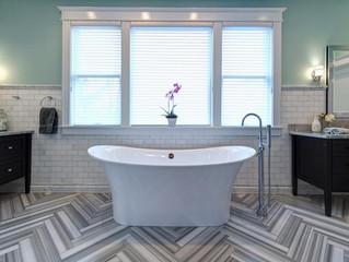 Stunning Chic Bathroom Tile Ideas
