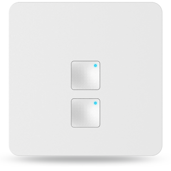 Smart Switch(Two-Gang,square shape,L)