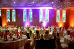 Belvedere Chateau Uplighting by Endless Entertainment (1)