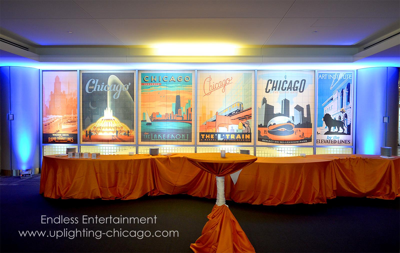 Event Lighting Uplighting Chicago Northbrook Des Plained Palatine Park Ridge Glenview Mount Prospect