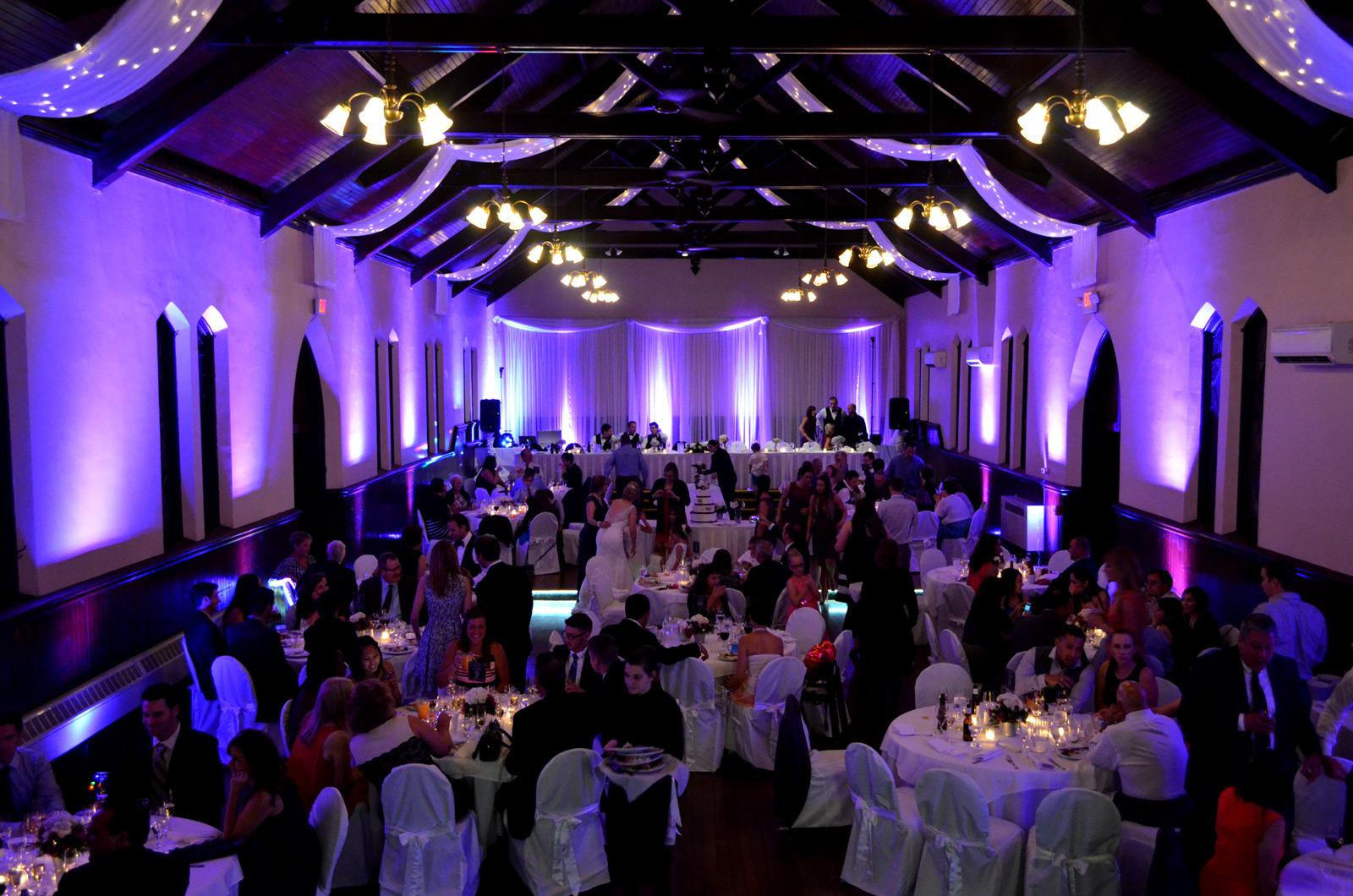 Wedding Uplighting Dekoven Center