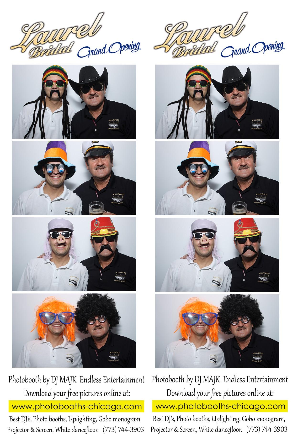 Photo Booth Strip Chicago Rental
