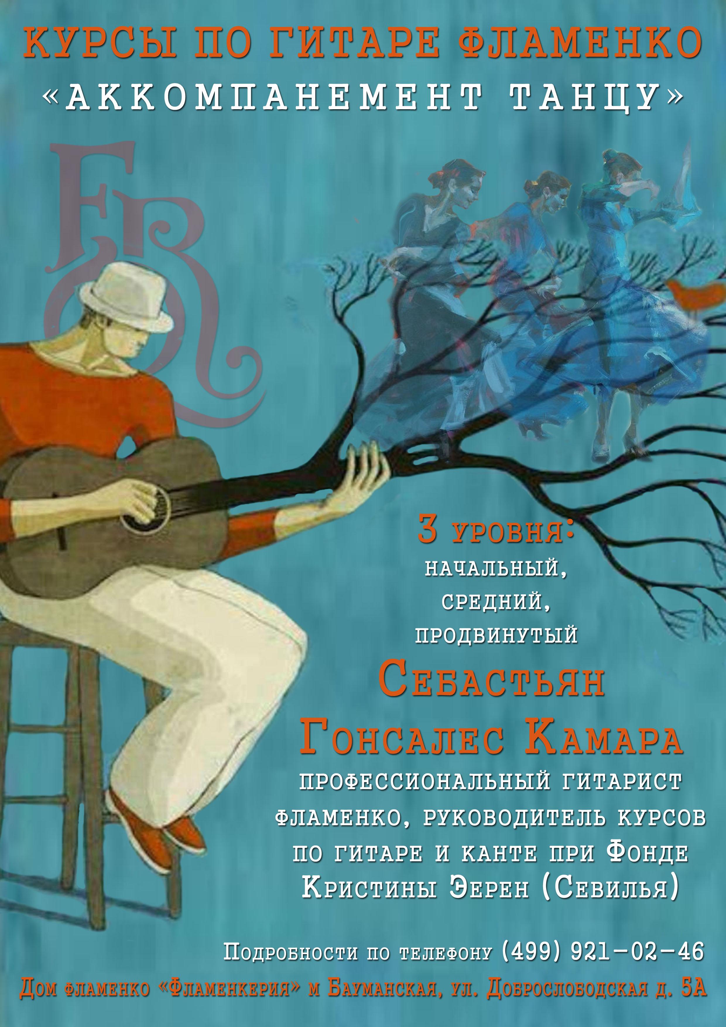 гитарный клуб плакат