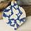 Thumbnail: Butterfly Pattern Blue Porcelain Bauble