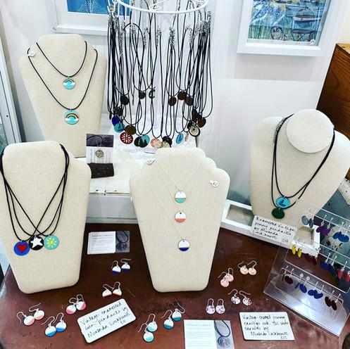 Miranda Luckhurst jewellery, handmade in Falapit