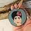 Thumbnail: Frida Kahlo Wooden Decoration