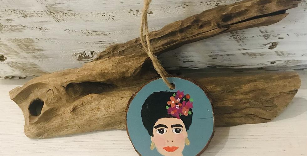 Frida Kahlo Wooden Decoration