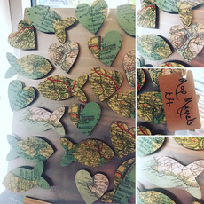 Scarett & Sid magnets, handmade in Kingsbridge