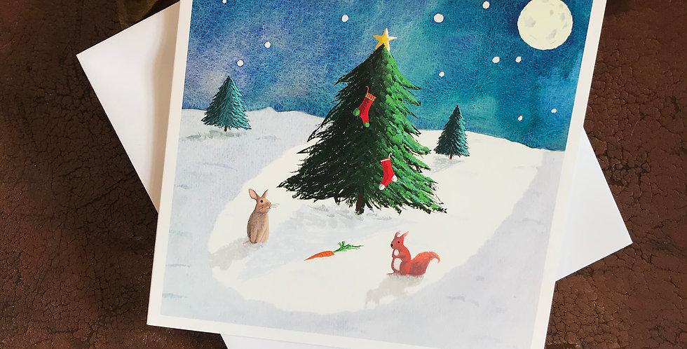 The Last Carrot Christmas Card