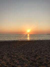 South Milton Sands sun set