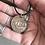 Thumbnail: Boat Enamelled Vintage Penny Pendant